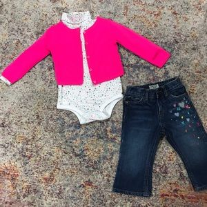 Toddler Girl winter Bundle ( 12-18 mo)